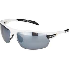 Alpina Tri-Scray Okulary, white-black